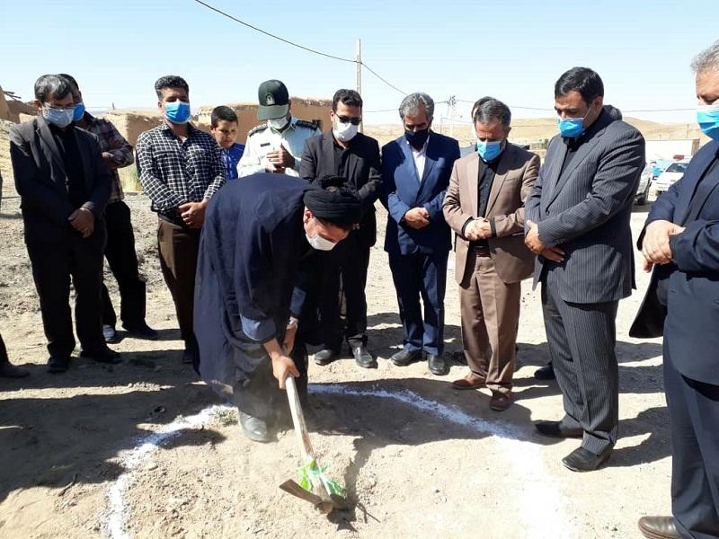 در چهارمین روز از هفته دولت؛ کلنگ زنی اجرای طرح هادی روستای تاتارده بخش افشار شهرستان خدابنده